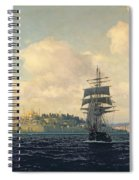 A View Of Constantinople Spiral Notebook