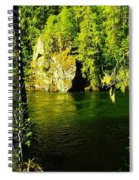 A View Of The Seleway River Spiral Notebook