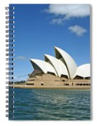 A View Of The Sydney Opera House Spiral Notebook