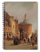 A View Of The Zuiderspui Spiral Notebook
