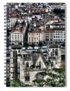 A View Of Vienne France Spiral Notebook