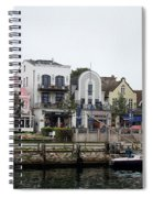 A View Of Warnemunde Germany Spiral Notebook
