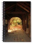 A View Through The Bridge Spiral Notebook