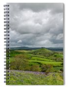 A View To Colmer's Hill Spiral Notebook