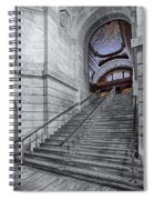 A View To The Mcgraw Rotunda Nypl Spiral Notebook