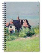 A Villa At Trouville Spiral Notebook