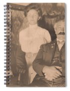 A Vintage Photo Of People Spiral Notebook