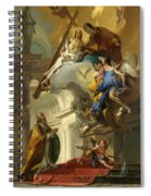 A Vision Of The Trinity Spiral Notebook