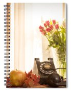 A Voice From The Past Spiral Notebook