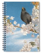 A Voice Of Joy And Gladness Spiral Notebook