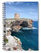 Xviii Defensive Tower In Alcafar Minorca - A Walk About Cliffs Spiral Notebook