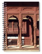 A Walk Among The Arches.. Spiral Notebook