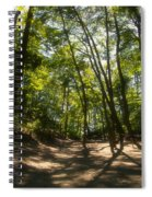 A Walk In The Dunes Spiral Notebook