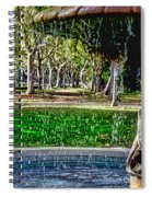 A Walk In The Park By Diana Sainz Spiral Notebook