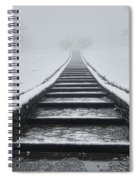 A Walk Into The Fog Spiral Notebook