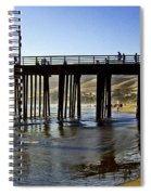 A Walk On The Beach Spiral Notebook