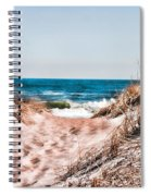 A Walk Out To The Water Spiral Notebook