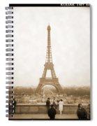 A Walk Through Paris 5 Spiral Notebook