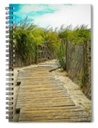 A Walk To The Beach Spiral Notebook