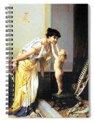 A Warm Exchange Spiral Notebook