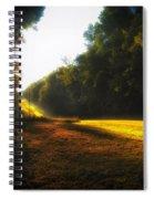 A Warm Michigan Sunrise Spiral Notebook