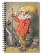 A Warrior Bold Spiral Notebook