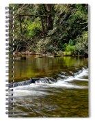 A Waterfalls Beginning Spiral Notebook