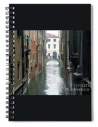 A Waterway Of Venice  Spiral Notebook