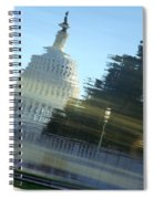 A Watery Capitol Spiral Notebook