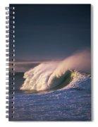 A Wave Breaks At Ziolkouski Beach Spiral Notebook