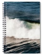 A Wave Breaks  Cannon Beach, Oregon Spiral Notebook