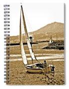 A Welcome Wind Spiral Notebook
