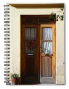 A Welcoming Door Spiral Notebook