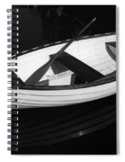 A White Rowboat Spiral Notebook