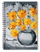 A Whole Bunch Of Daisies Selective Color I Spiral Notebook