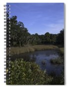 A Wide Expanse Of Marsh Spiral Notebook