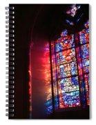 A Window In A Church Spiral Notebook