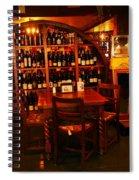 A Wine Rack Spiral Notebook