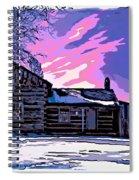 A Winter Dream 2 Spiral Notebook