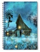 A Winter Fairytale Spiral Notebook