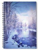 A Winter Reverie Spiral Notebook