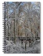 A Winter Scene Spiral Notebook