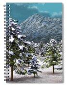 A Winter Scene... Spiral Notebook