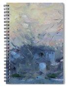 A Winter Sunrise Spiral Notebook