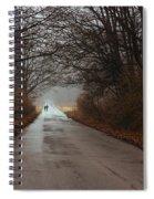 A Winter Walk Spiral Notebook