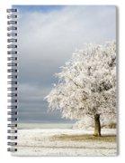 A Winter's Morning Spiral Notebook