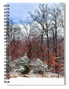 A Winters Scene Spiral Notebook