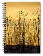 A Winter's Silhouette Spiral Notebook