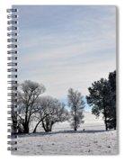 A Wintery Day Spiral Notebook