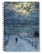 A Wintry Walk Spiral Notebook